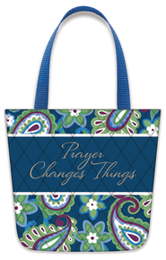 Prayer Changes Things, Tote-Shaped Magnet   -