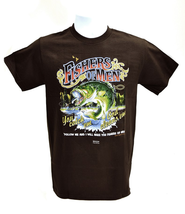 Fishers Of Men 3 Shirt, Brown, Small  -