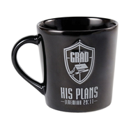 He is Your Shield, Grad Mug, Jeremiah 29:11  -