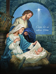 Nativity, Let Us Adore Him Puzzle  -