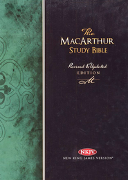 NKJV MacArthur Study Bible, Revised Edition, Hardcover   -     By: John MacArthur