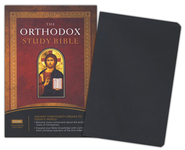 The Orthodox Study Bible - Bonded Leather Black  -