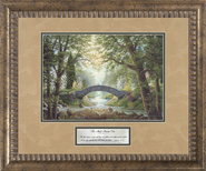 Two Shall Become One Framed Print  -     By: Jack E. Dawson