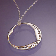 A Mother's Joy is Her Daughter Pendant  -