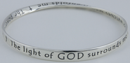 Prayer for Protection Mobius Bracelet  -