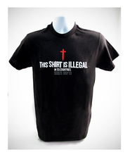 This Shirt Is Illegal, Shirt, Black, Medium  -