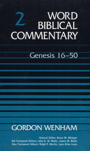 Genesis 16-50: Word Biblical Commentary [WBC]   -     By: Gordon J. Wenham