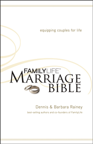 NKJV Familylife Marriage Bible: Equipping Couples for Life - Hardcover  -