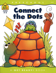 Motor Skills-Connect the Dots, Preschool Get Ready Workbooks  -