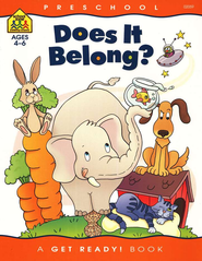 Language Skills-Does It Belong?   Preschool Get Ready Workbooks  -