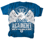 Flying Academy Shirt, Blue, Youth Medium  -