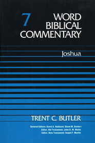 Joshua: Word Biblical Commentary [WBC]   -     By: Trent C. Butler