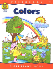 General Learning-Colors, Preschool Get Ready Workbooks  -