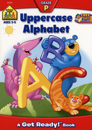 General Learning-Uppercase Alphabet, Preschool Get Ready Workbooks  -