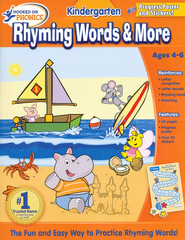 Hooked on Phonics: Rhyming Words & More Workbook   -