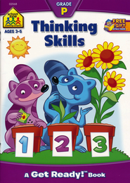 General Learning-Thinking Skills, Preschool Get Ready Workbooks  -