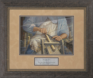 Hands of the Master Craftsman Framed Print  -     By: Jack E. Dawson