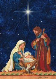 Holy Family Christmas Cards, Box of 12  -