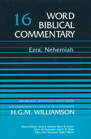 Ezra-Nehemiah: Word Biblical Commentary [WBC]   -     By: H.G.M. Williamson