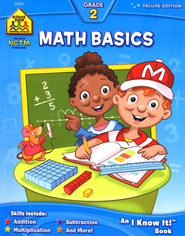 Math Basics Grade 2 Deluxe Edition Workbook   -
