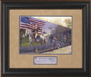 Reviewing the Troops Framed Print  -     By: Jack E. Dawson