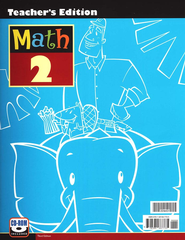 BJU Math Grade 2 Teacher's Edition (Book & CD-Rom), Third Edition    -