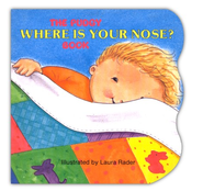 Pudgy Where is Your Nose? Book   -     By: Laura Rader