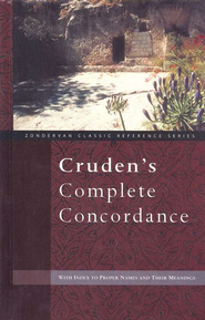 Cruden's Complete Concordance  - Slightly Imperfect  -