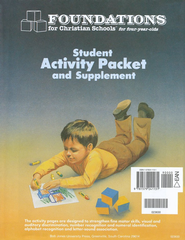 BJU K4 Foundations Student Activity Packet   -