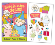 Happy Birthday Jesus Children's Activity Book  -