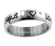 Happy, Jesus, Love Ring, Size 8  -