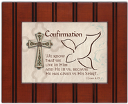 Grow in Grace Confirmation Framed Plaque  -