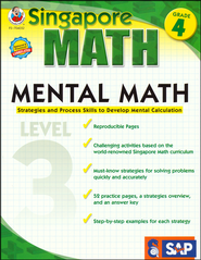Singapore Mental Math Level 3 Grade 4  -