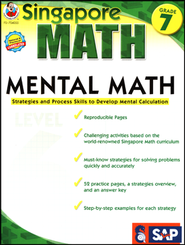 Singapore Mental Math Level 6 Grade 7  -