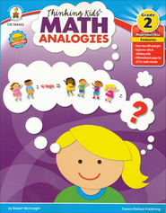 Thinking Kids Math Analogies Grade 2  -     By: Robert McCreight