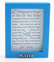 I Whispered A Prayer Shadow Box  -
