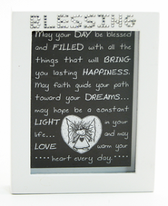 May Your Day Be Blessed Shadow Box  -