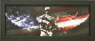 Greater Love Hath No Man Than This Framed Print  -