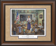 School Daze Framed Print  -     By: Jack E. Dawson