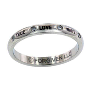 True Love Waits Ring, Size 5  -