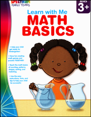 Spectrum Early Years Learn with Me Math Basics  -