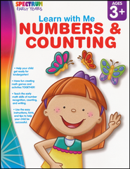 Spectrum Early Years Learn with Me Numbers & Counting  -