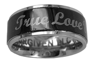 True Love Waits Spinner Ring, Size 8   -