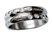 Friends are Like Diamonds Ring, Size 8  -