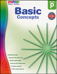 Spectrum Early Years Basic Concepts  -