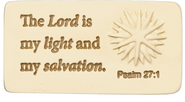 The Lord is My Light Tile  -