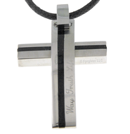 Way Truth Life, Cross Necklace  -