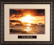 Peace I Leave with You Framed Print  -