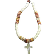 Puka Cross Pendant  -
