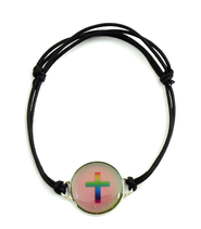 Mood Cross Bracelet  -